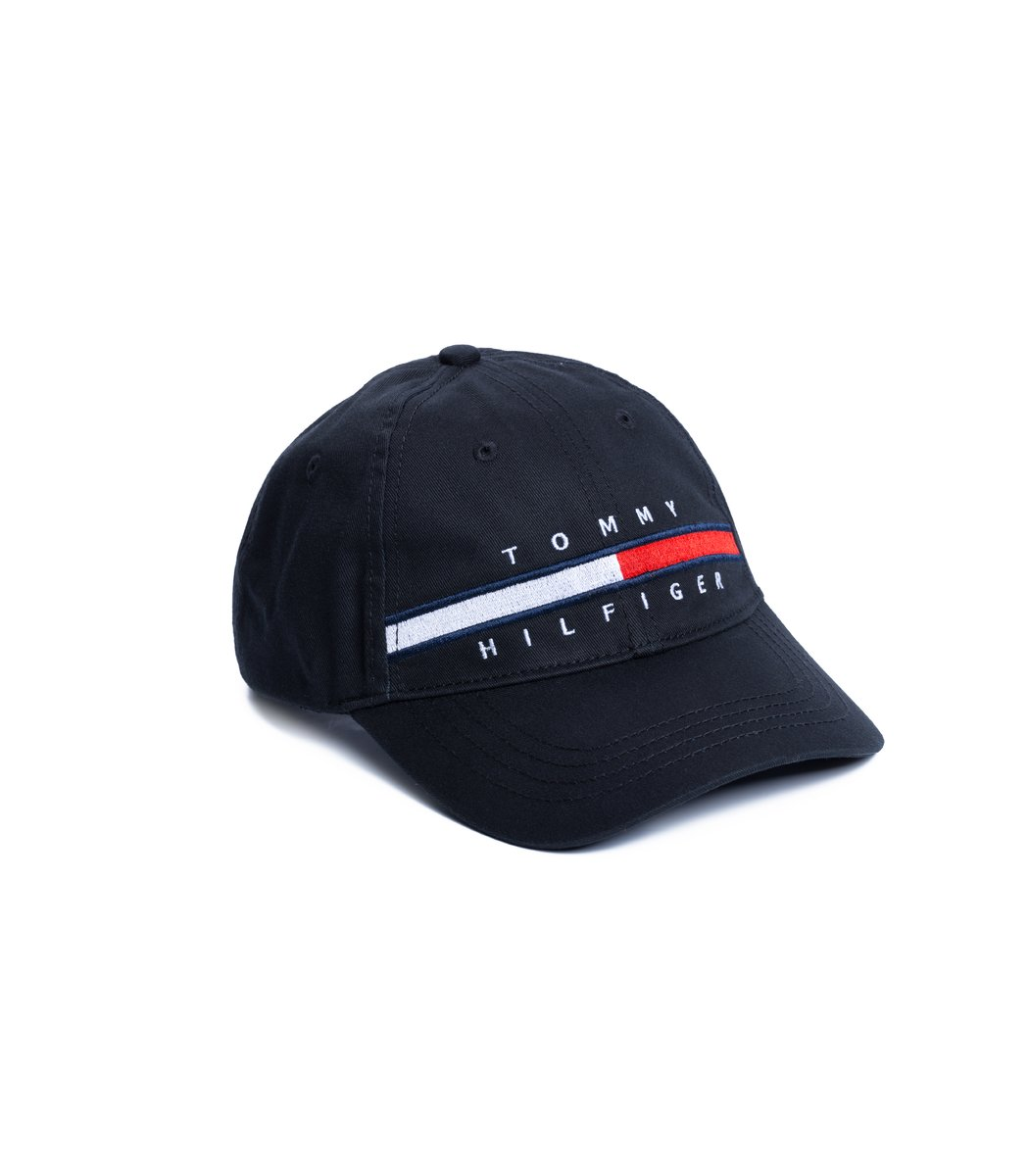 Кепка Tommy Hilfiger TH2 Чёрный - Чёрный - Вид 1