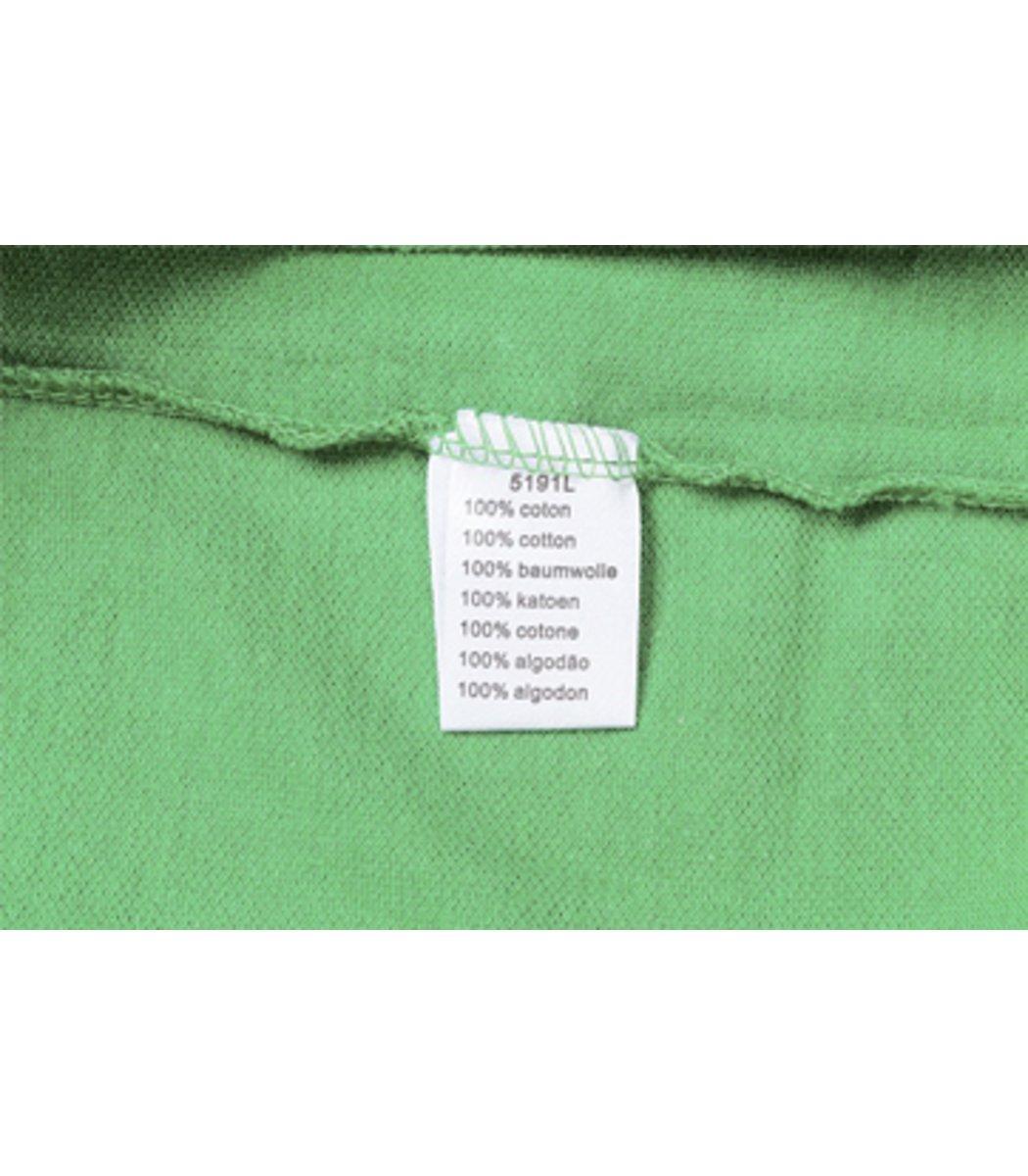 Женская зеленая футболка поло Lacoste