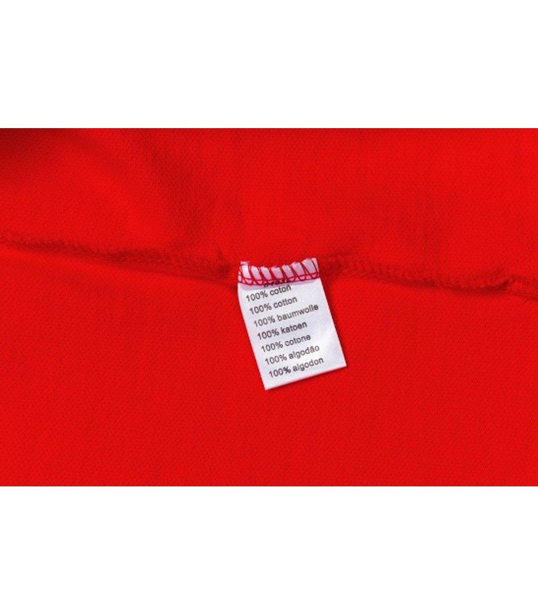 Женская красная футболка поло Lacoste - красный - Вид 4