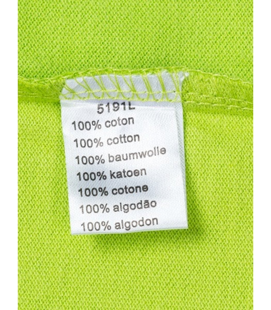 Женская салатовая футболка поло Lacoste  - салатовый - Вид 4