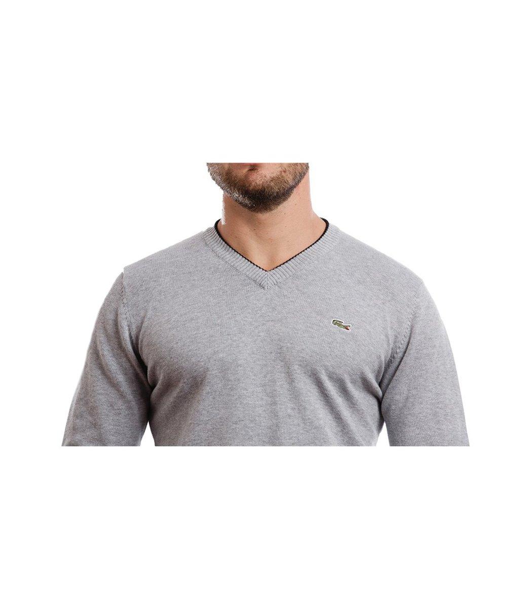 Пуловер Lacoste VL1 (Серый) - Серый - Вид 3