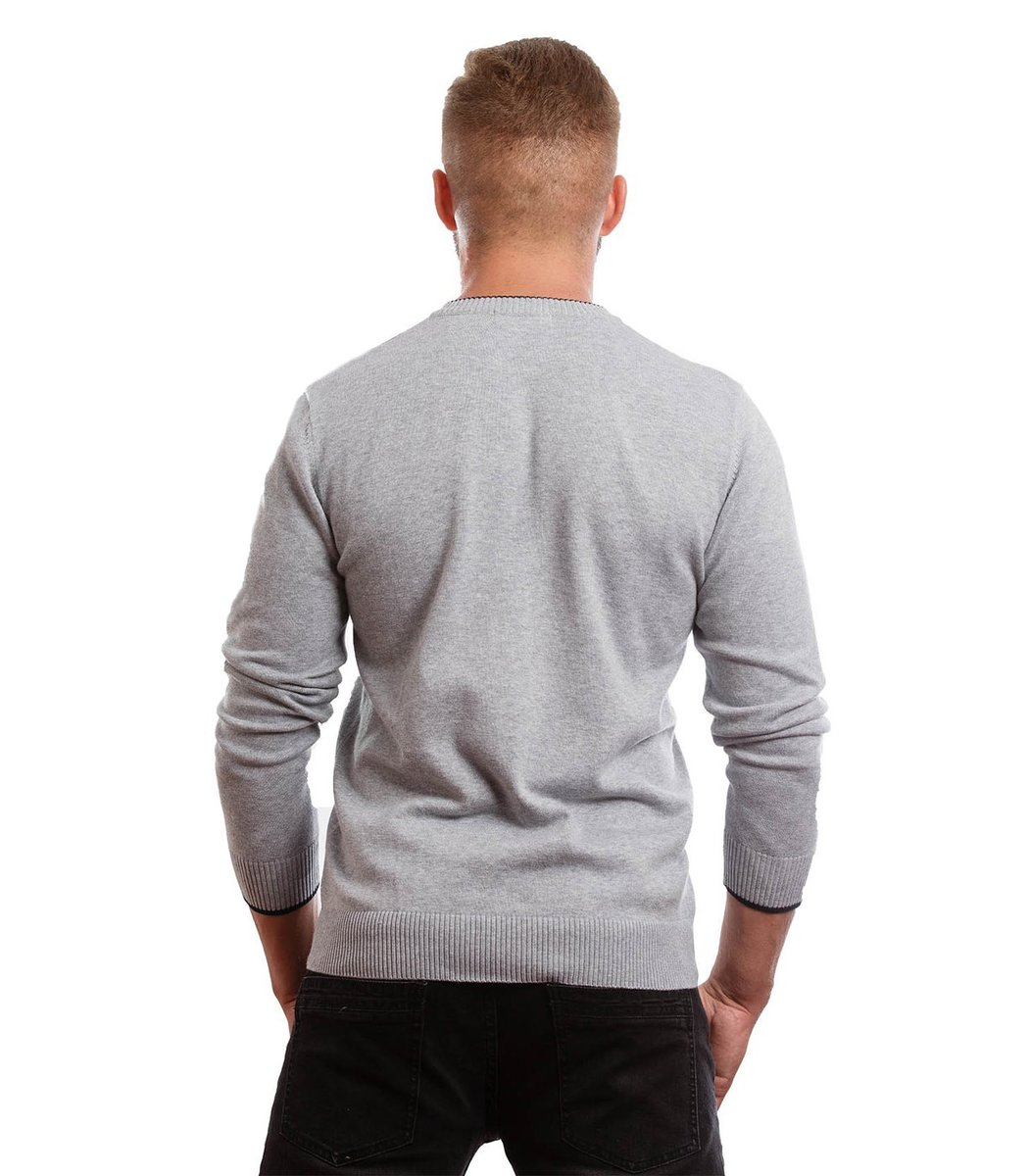 Пуловер Lacoste VL1 (Серый) - Серый - Вид 4