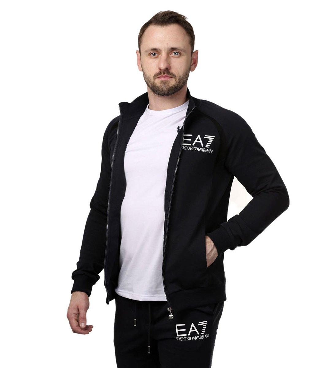 Спортивный костюм EA7 (тёмно-синий)