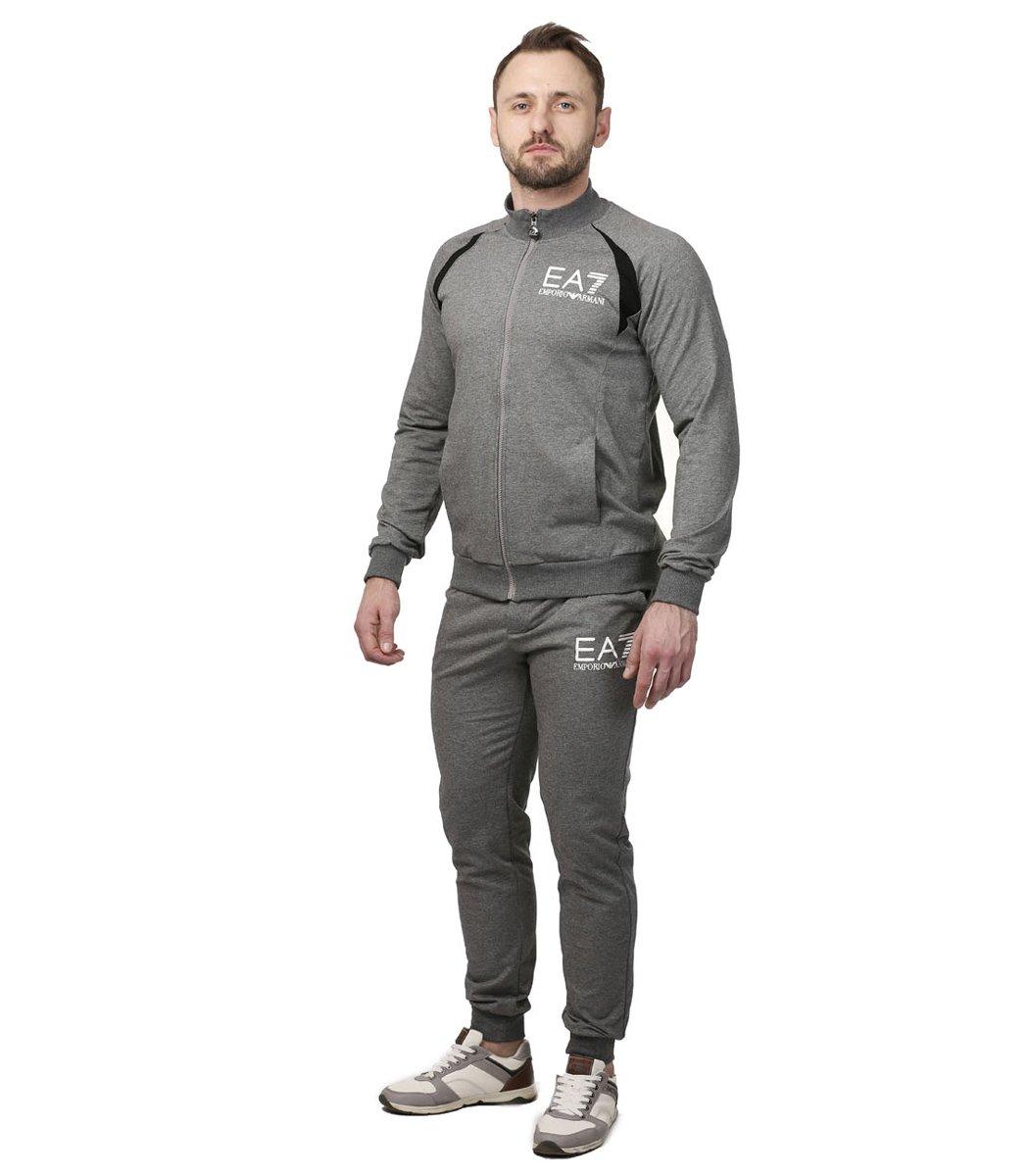 Спортивный костюм EA7 (серый)