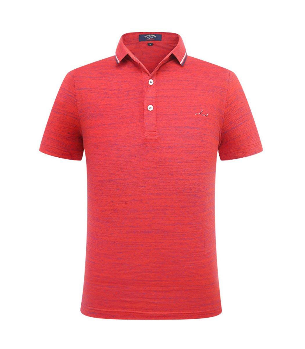 Красная футболка Paul&Shark N003