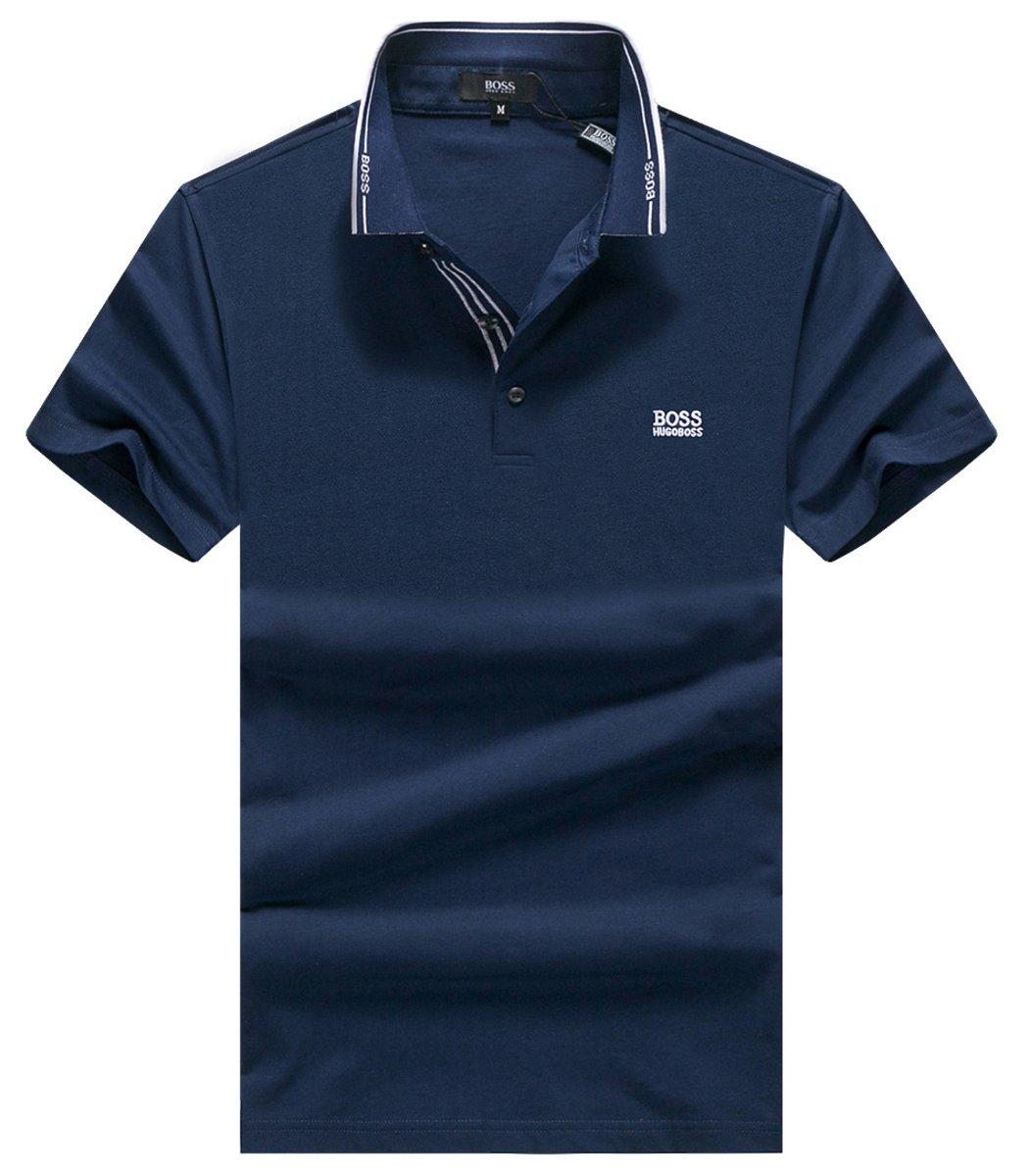 Темно-синяя футболка Hugo Boss HB2