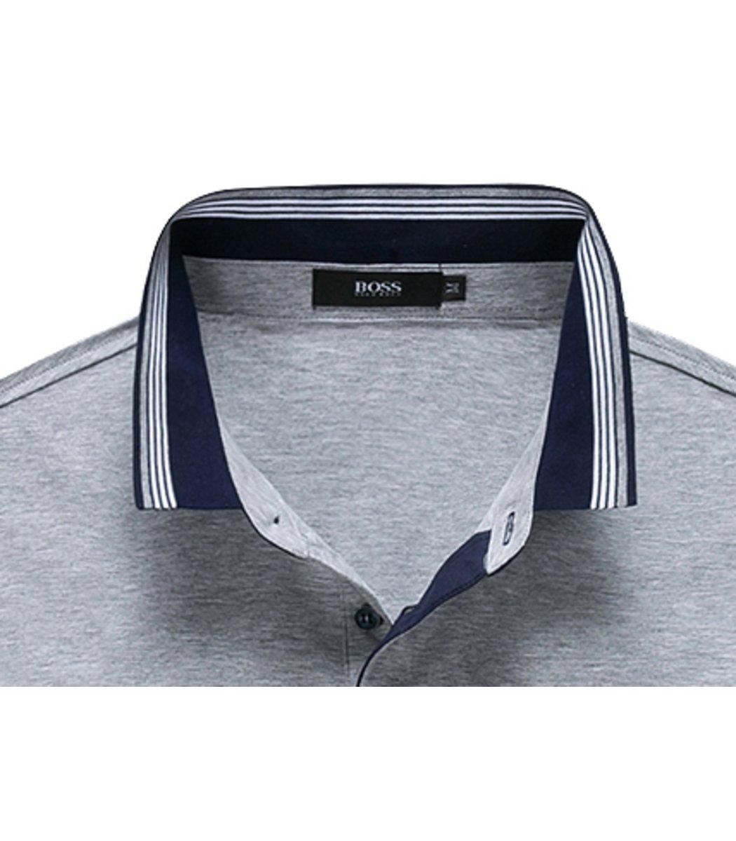 Серая футболка Hugo Boss Print3