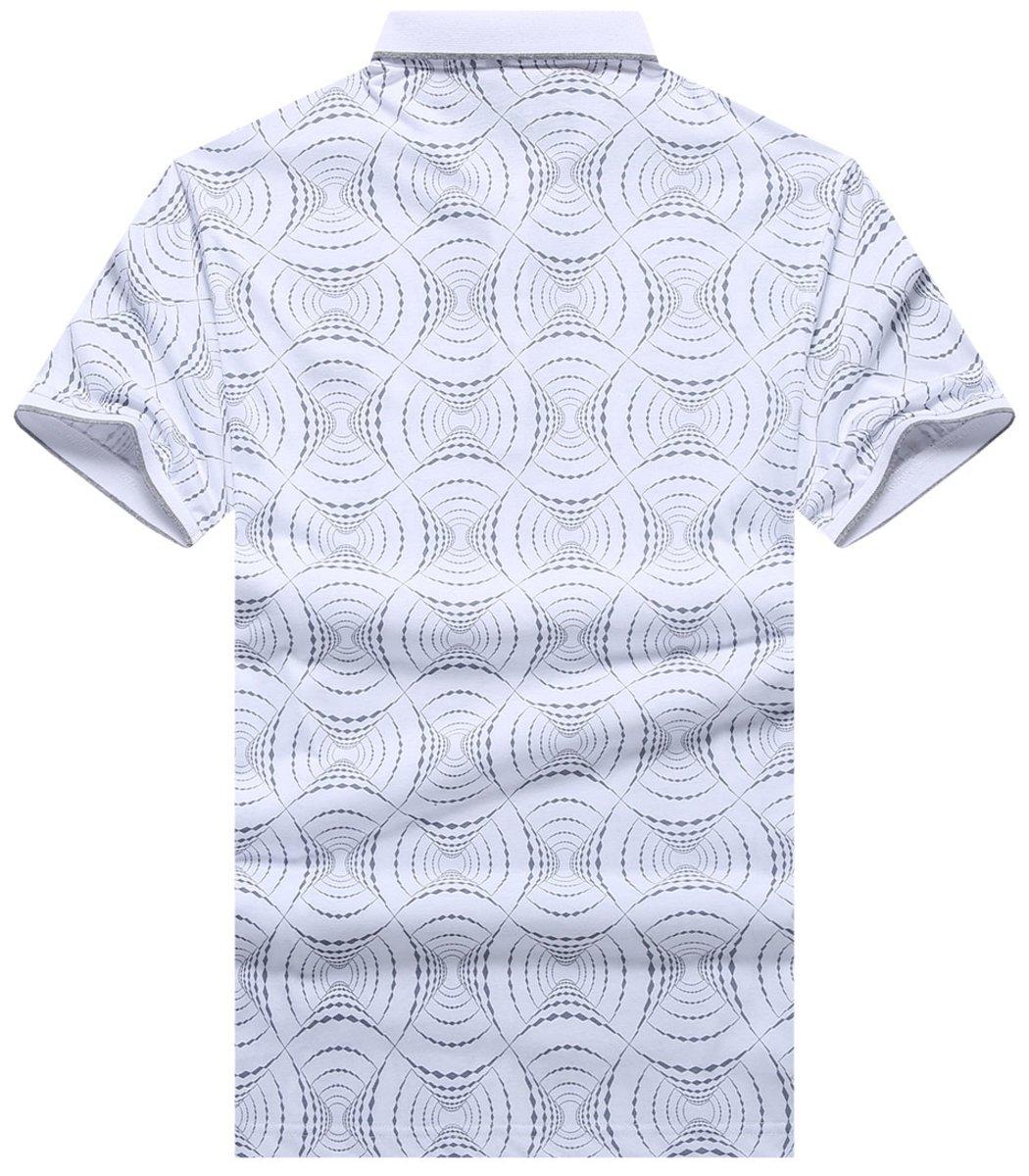 Белая футболка Hugo Boss Print2