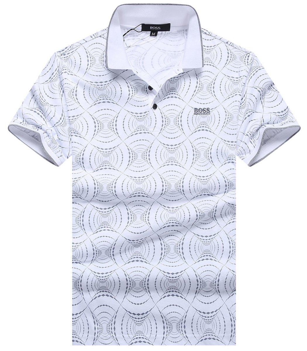 Белая футболка Hugo Boss Print2 - Белый - Вид 1
