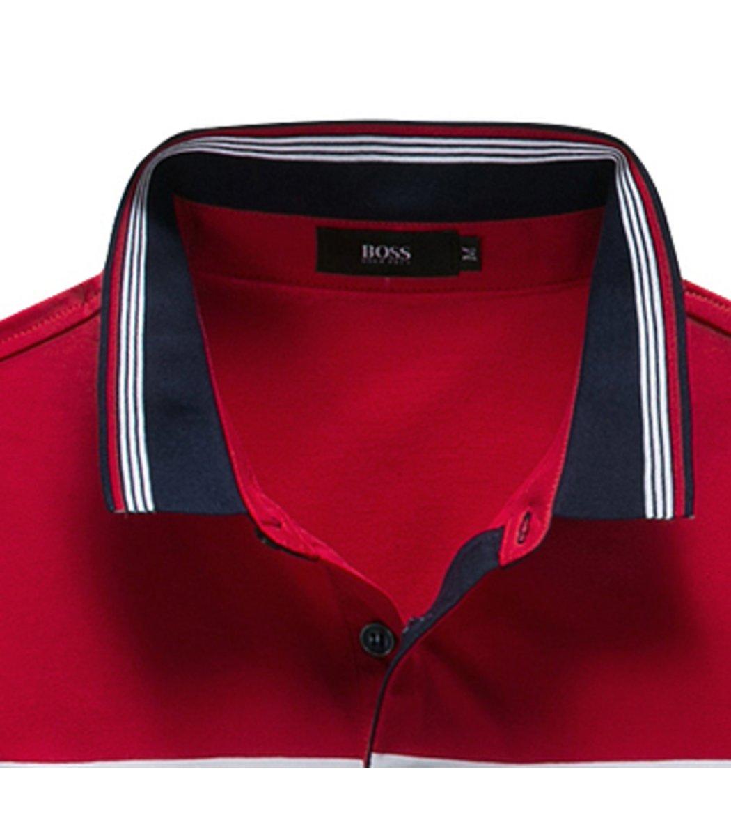 Красная футболка Hugo Boss Print3