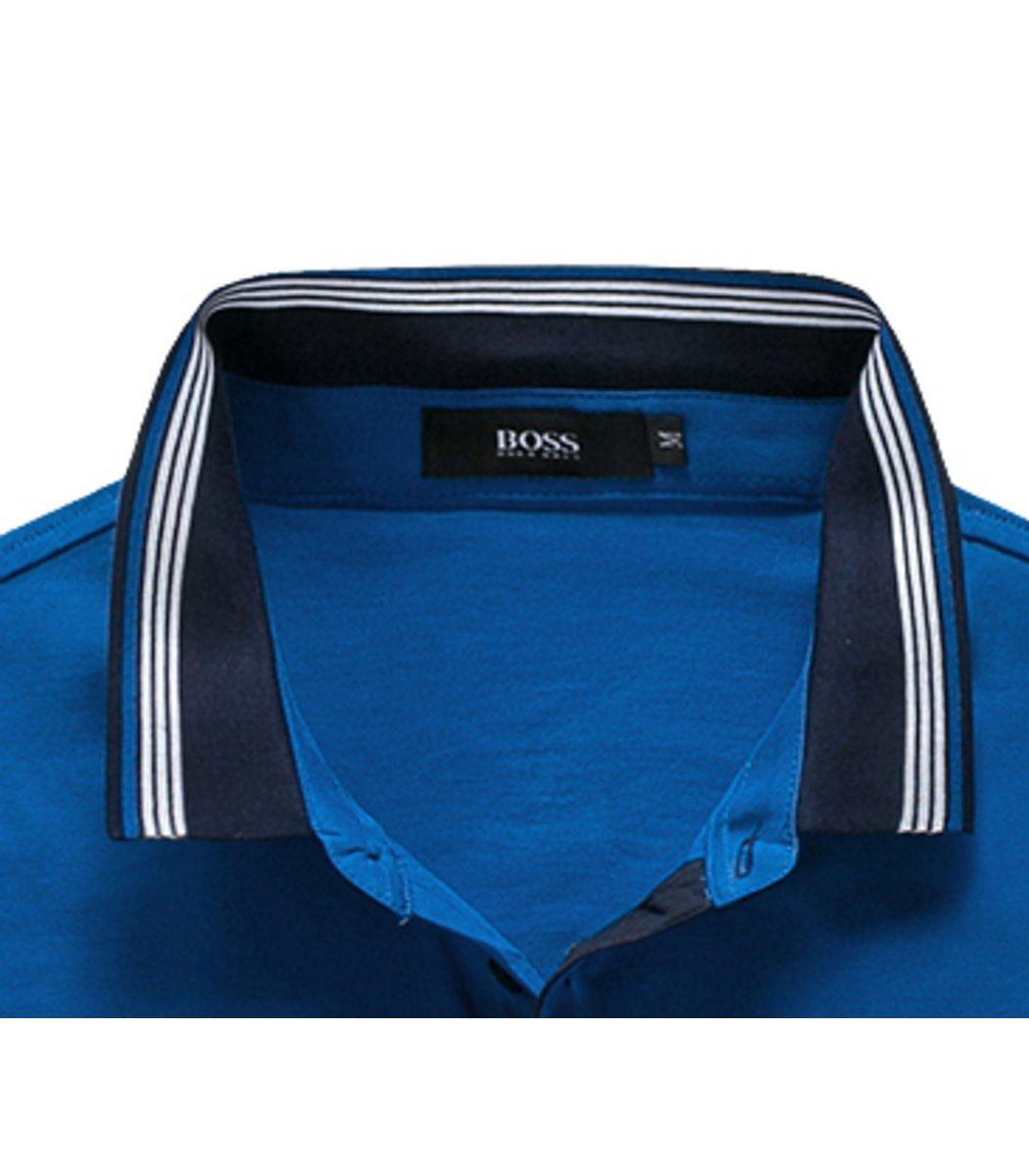 Синяя футболка Hugo Boss Print3