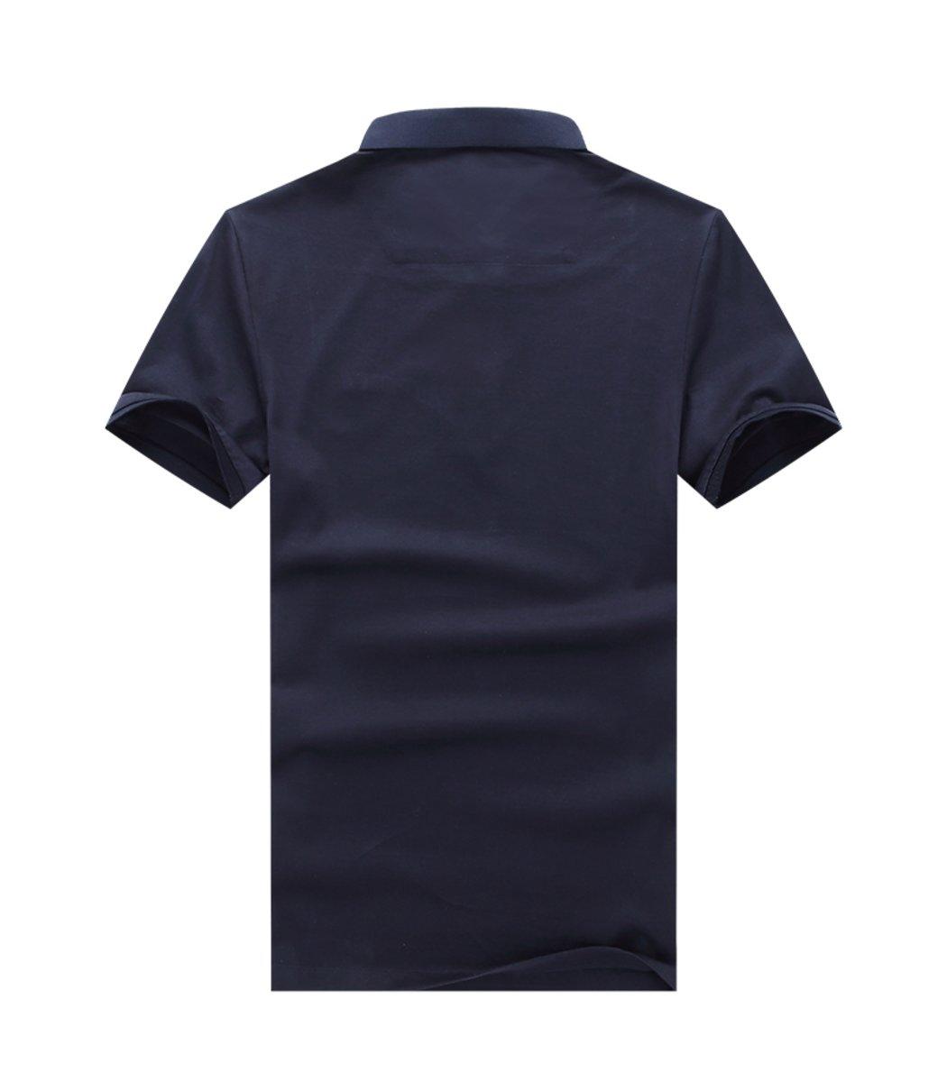 Темно синяя футболка Paul Shark N001 - темно-синий - Вид 2