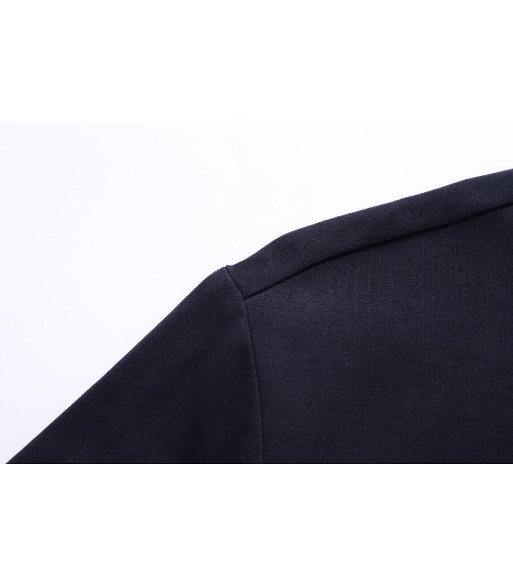 Темно синяя футболка Paul Shark N001 - темно-синий - Вид 7