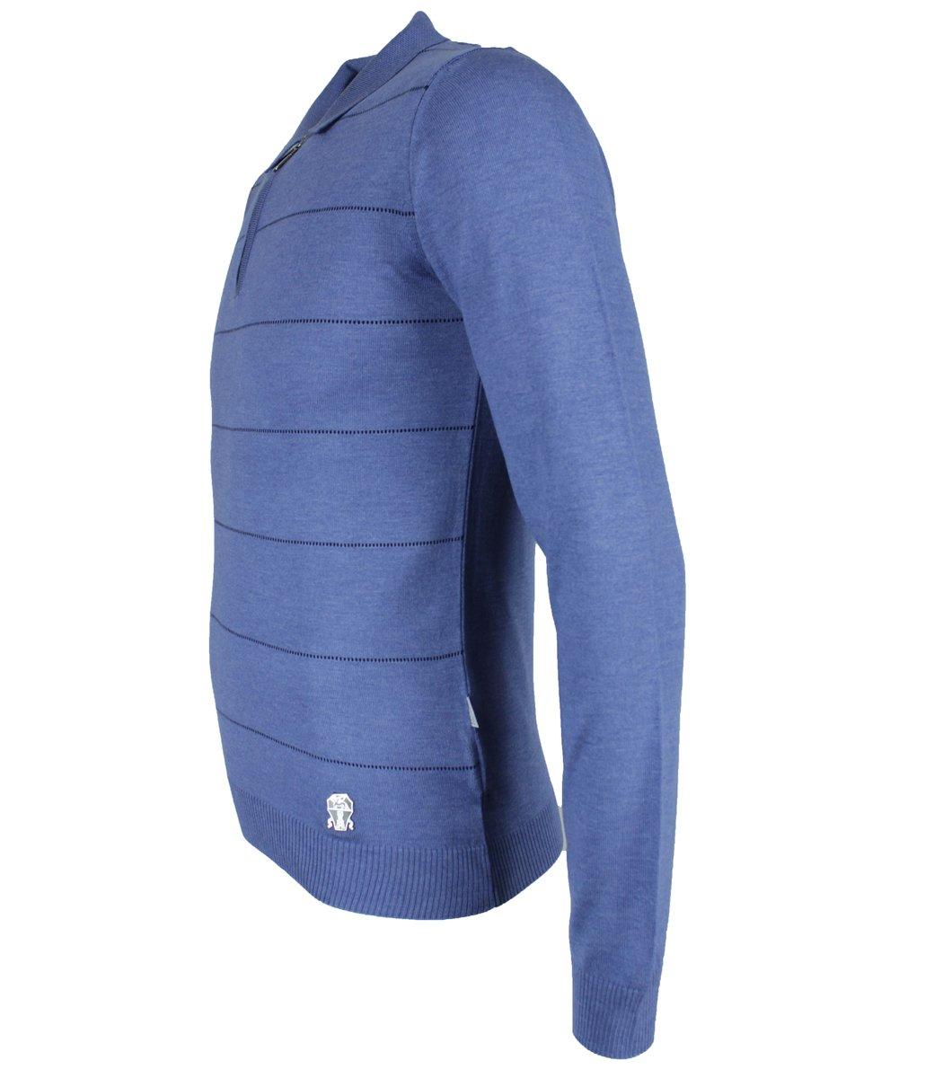 Голубое поло Brunello Cucinelli 7270