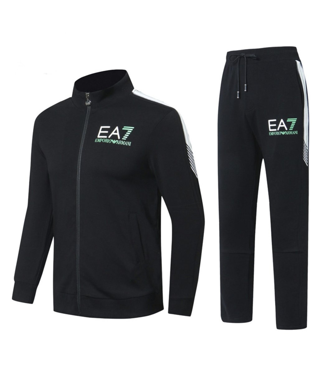 Черный спортивный костюм EA7 (SpE2)