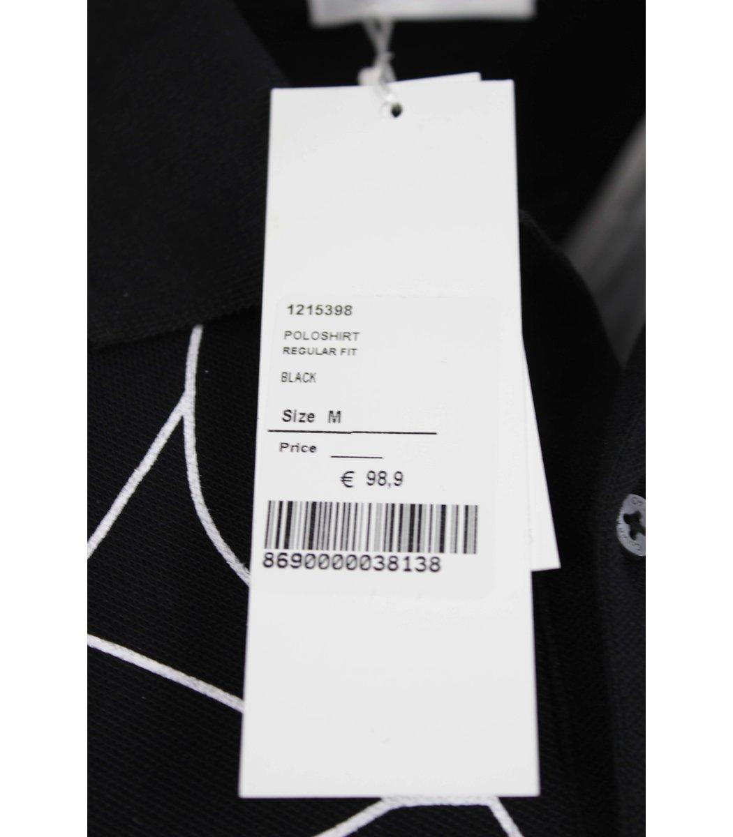 Черная футболка поло Calvin Klein MCK2