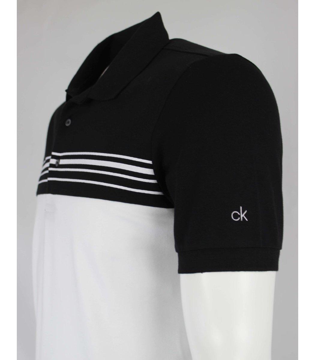 Черная футболка поло Calvin Klein MCK1
