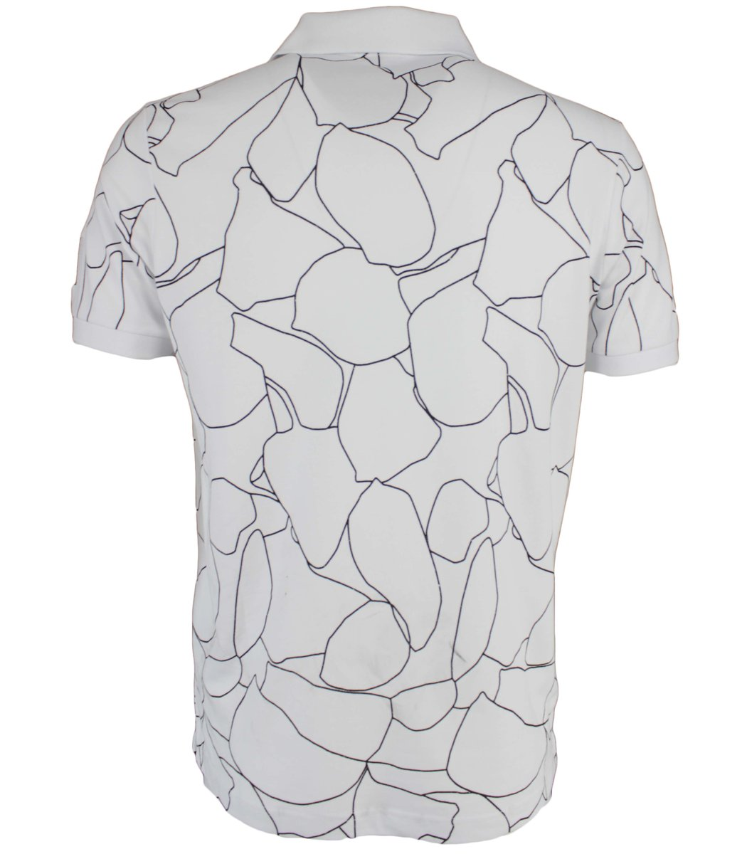 Белая футболка поло Calvin Klein MCK2