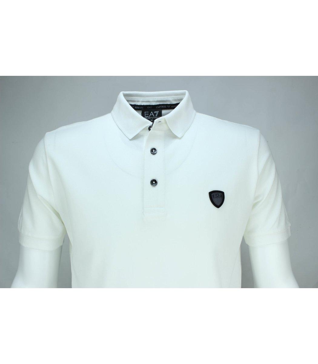 Белая футболка поло Giorgio Armani A2