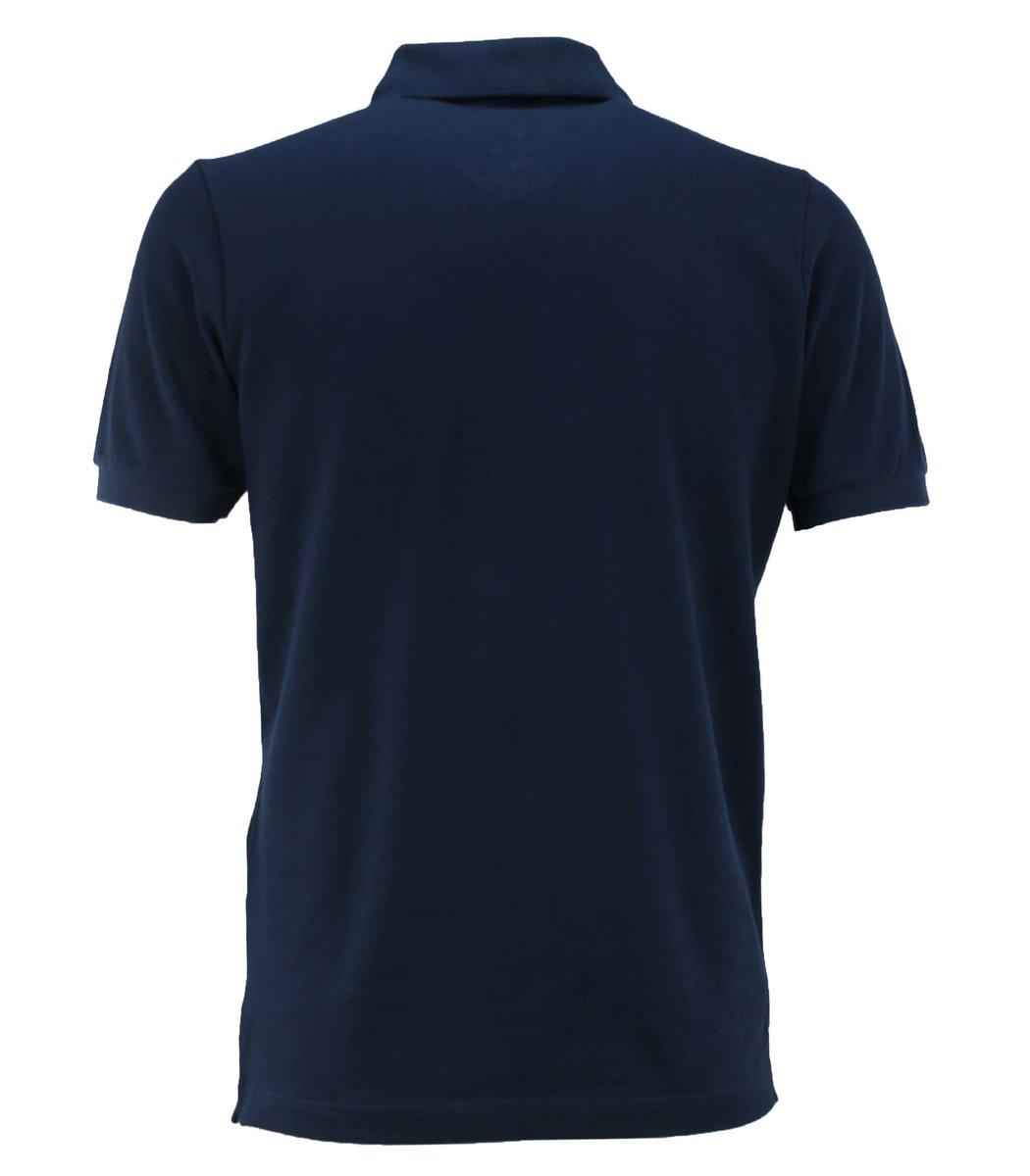 Тёмно-синяя футболка поло Hugo Boss HB6 (2)
