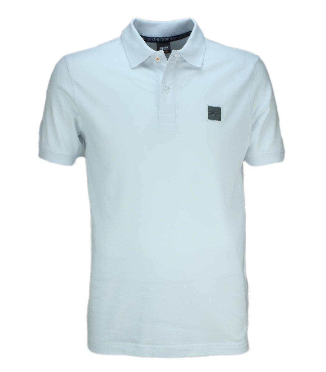 Белая футболка поло Hugo Boss HB6 (2)