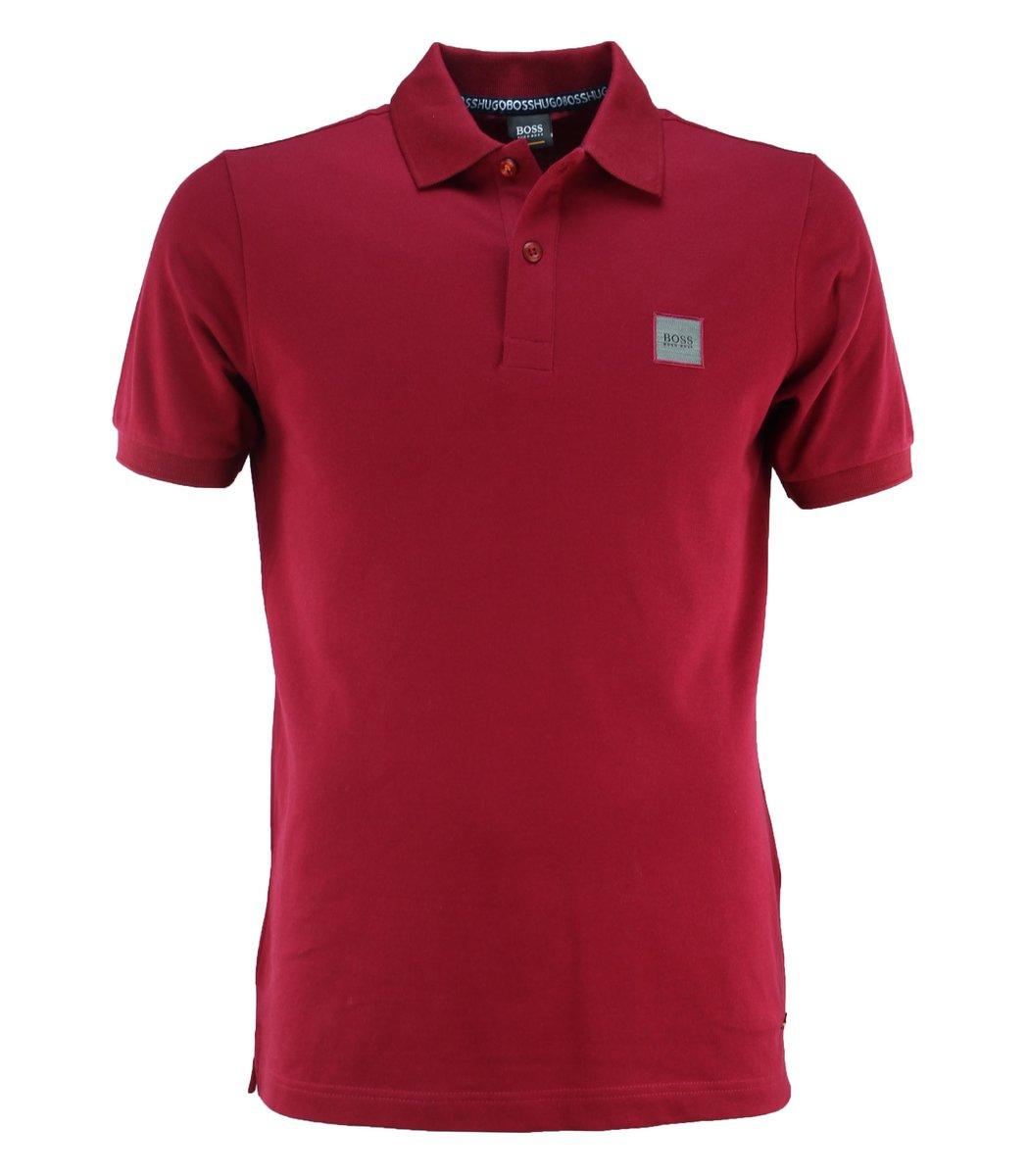 Красная футболка поло Hugo Boss HB6 (2)