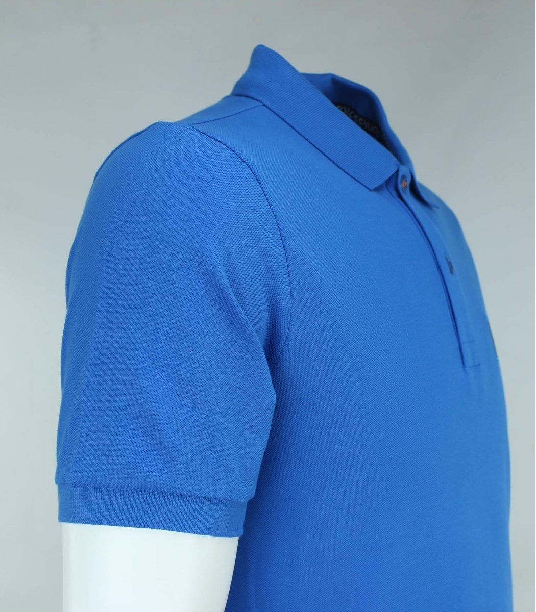 Голубая футболка поло Hugo Boss HB6