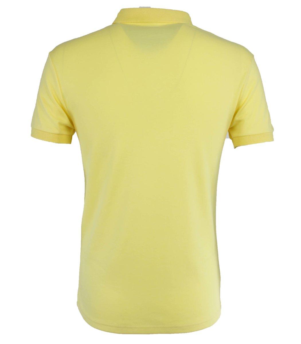 Желтая футболка поло Hugo Boss MH1