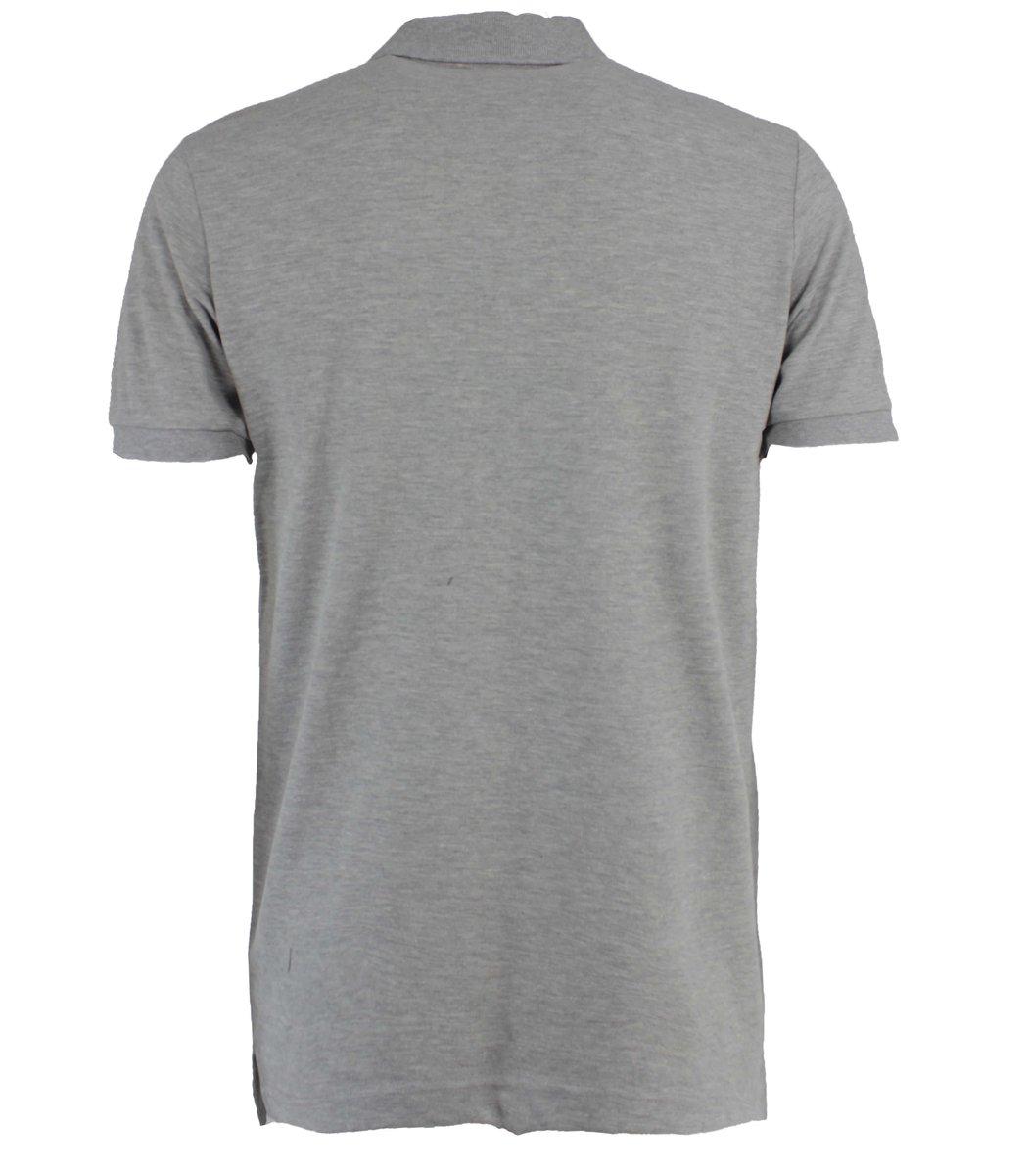 Серая футболка поло Hugo Boss MH2