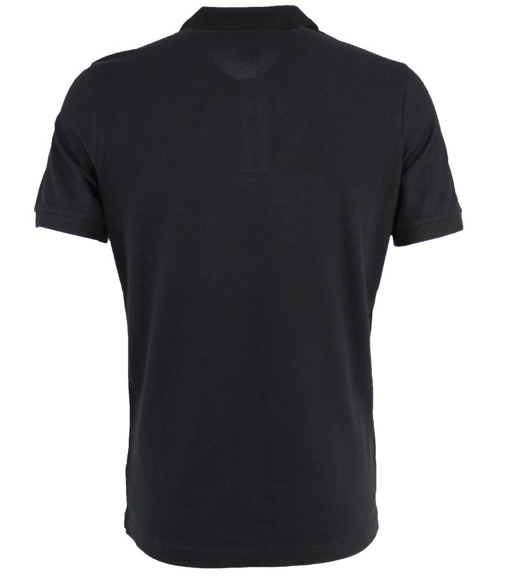 Черная футболка поло Hugo Boss MH2