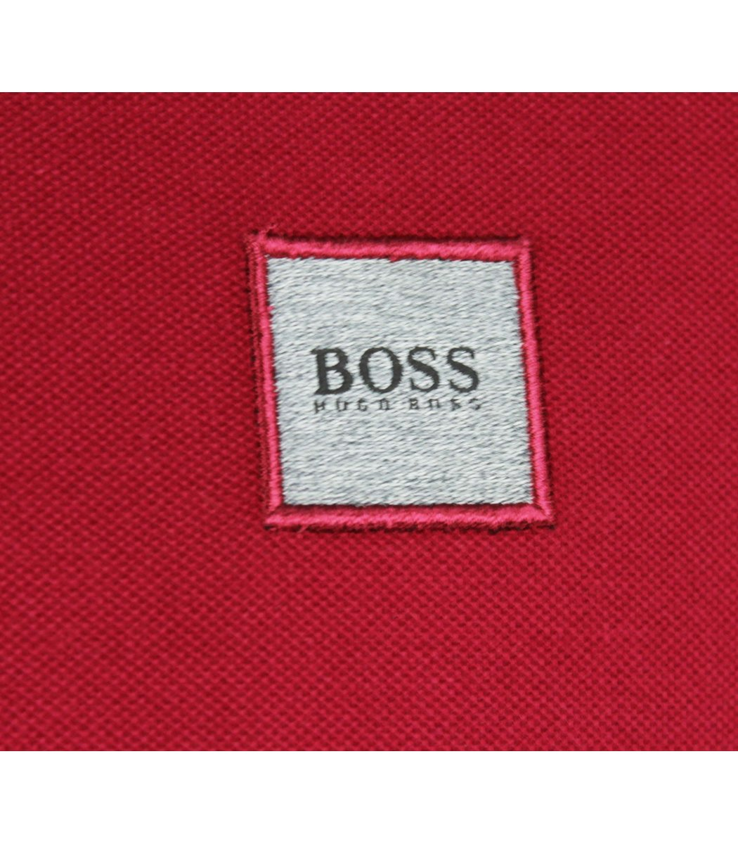 Сливовая футболка поло Hugo Boss MH2