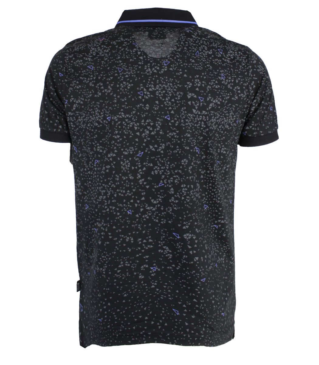 Черная футболка поло Hugo Boss MH3