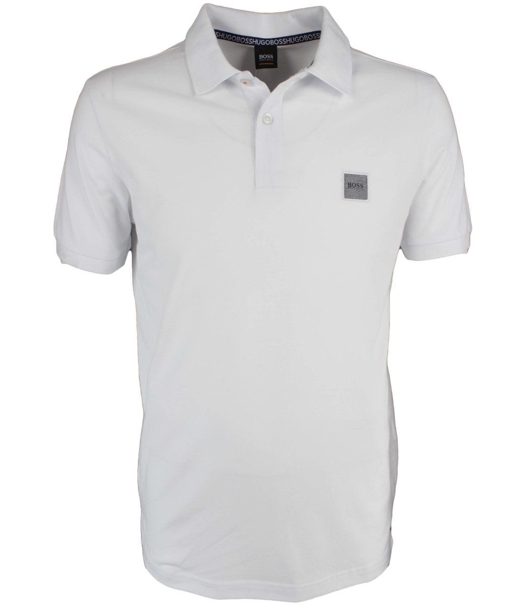 Белая футболка поло Hugo Boss MH2