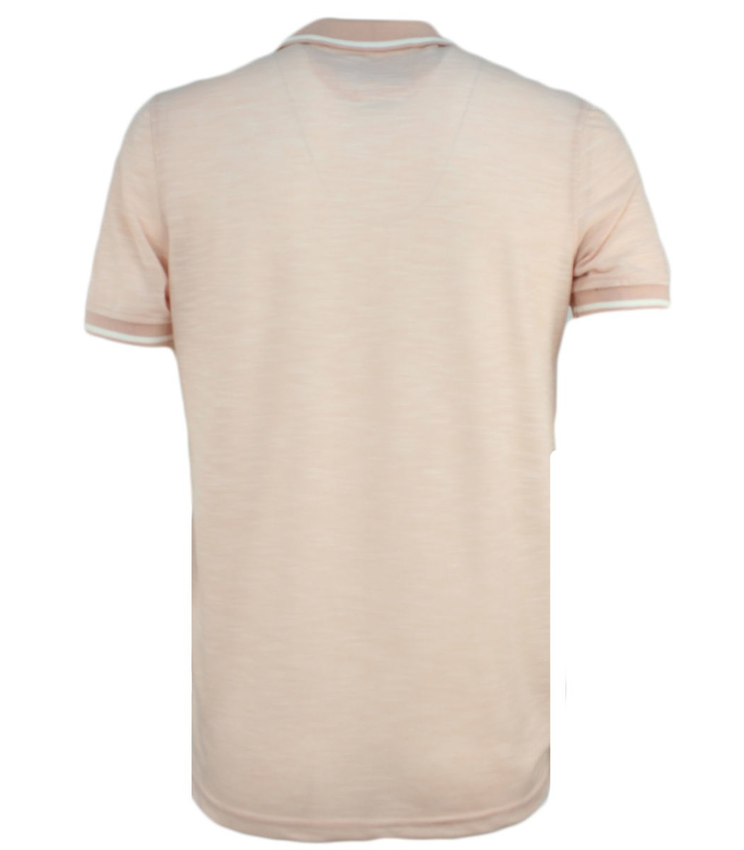 Бежевая футболка поло Lacoste L2