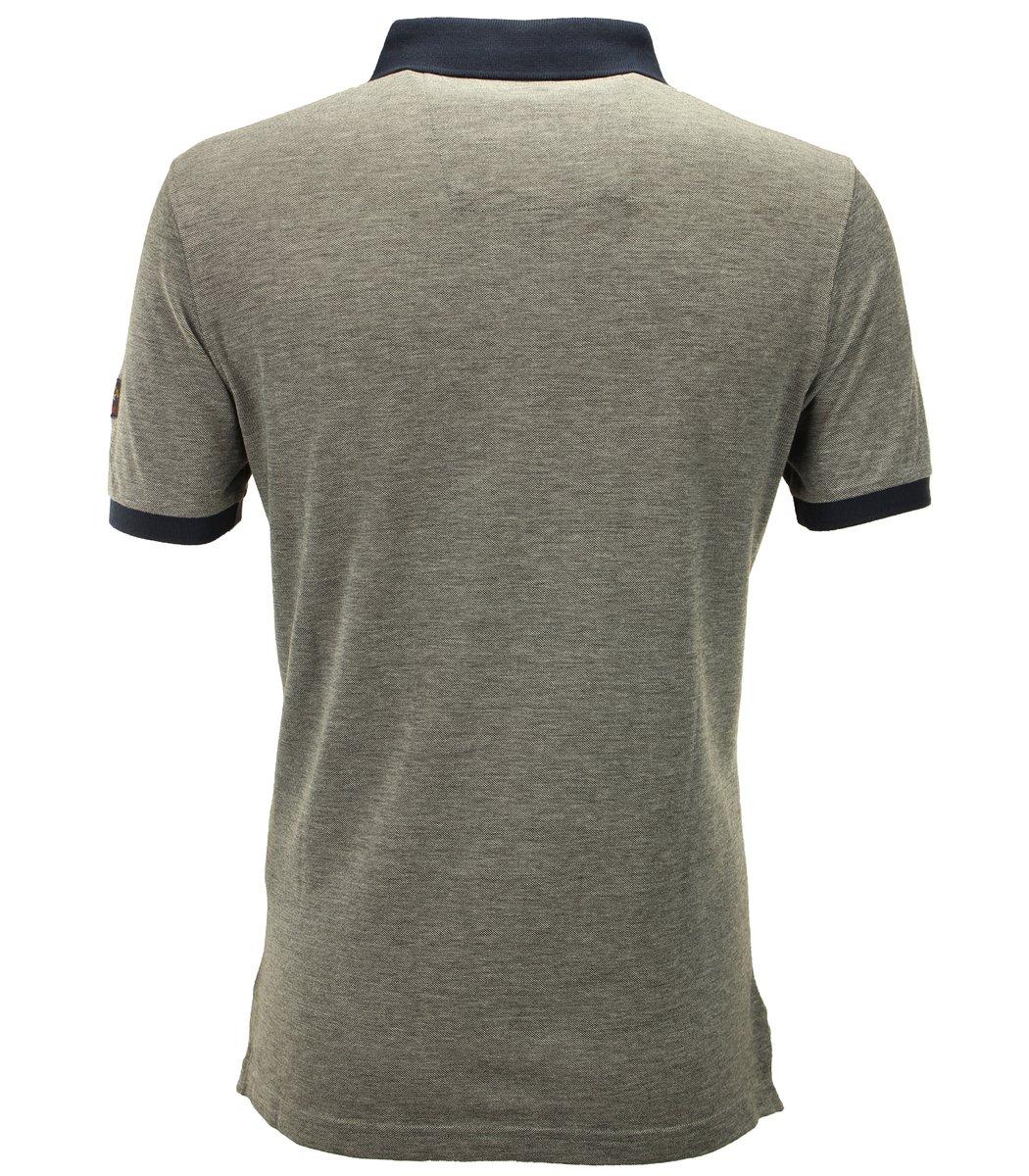 Серая футболка поло Paul&Shark TP4