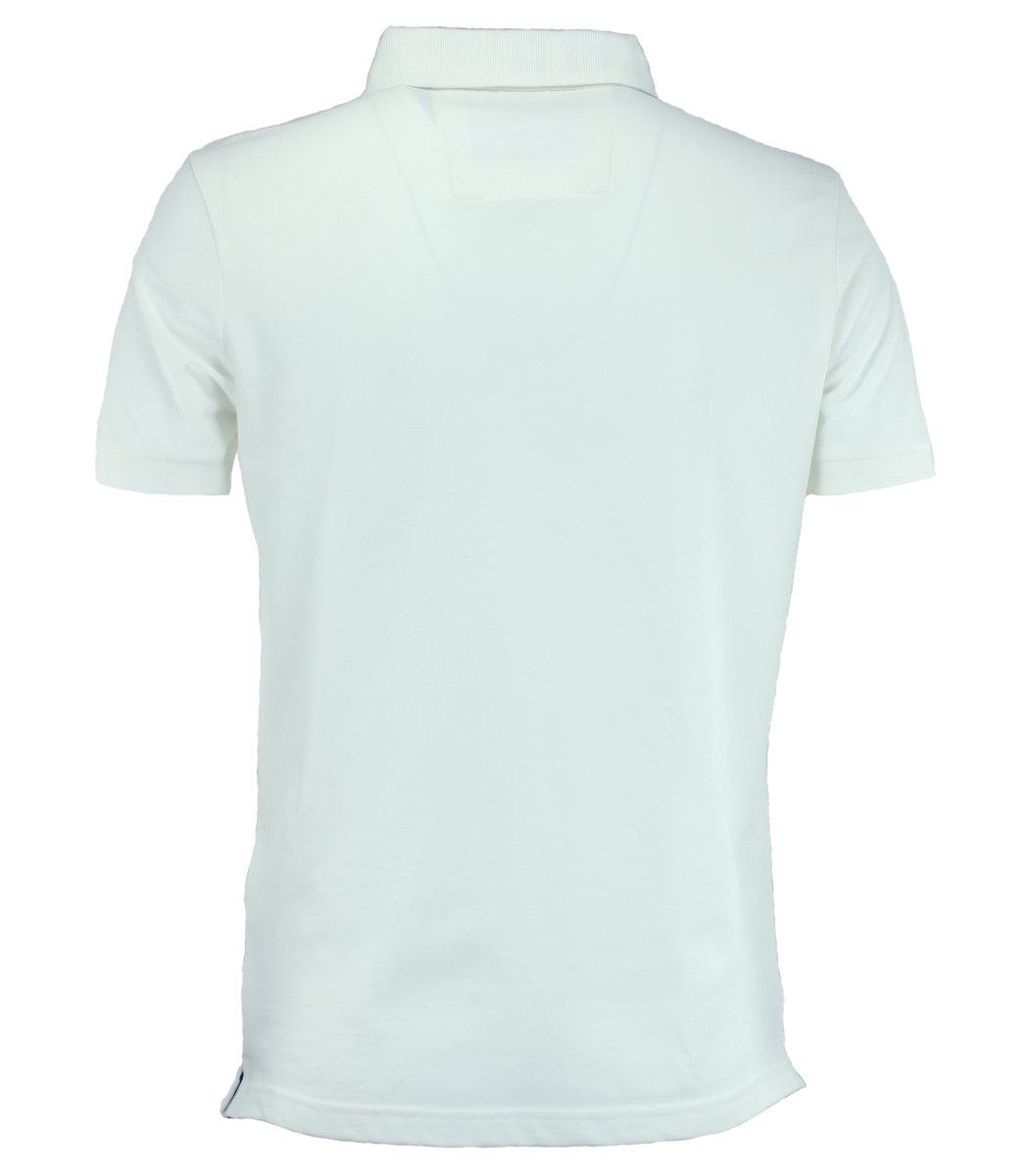 Белая футболка поло Paul&Shark TP3