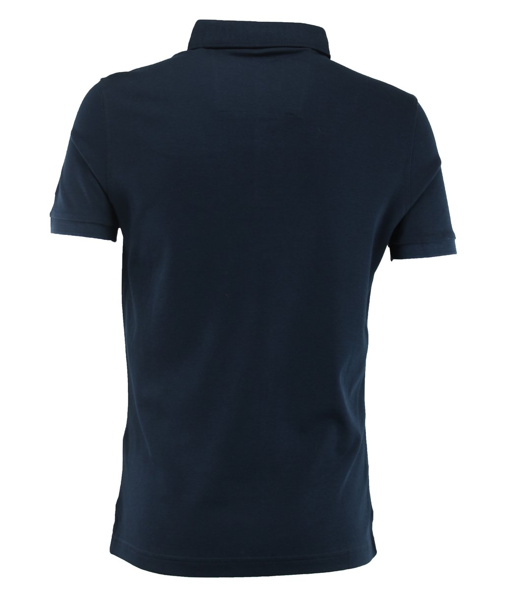 Тёмно-синяя футболка поло Paul&Shark F1