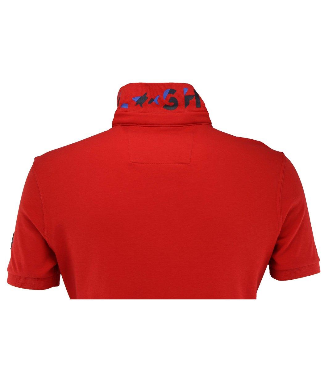 Красная футболка поло Paul&Shark F2