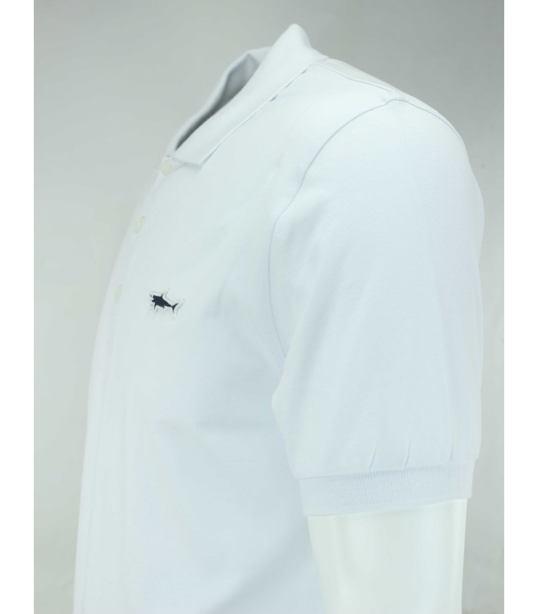 Белая футболка поло Paul&Shark TP2