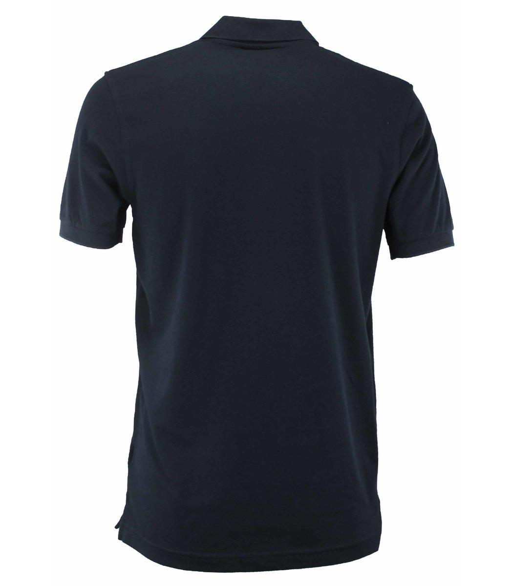 Тёмно-синяя футболка поло Paul&Shark TP2