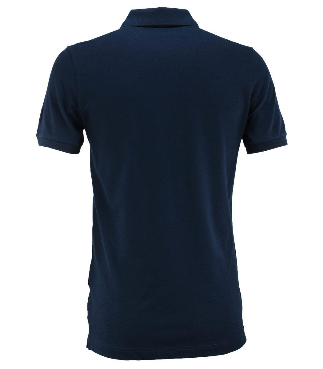 Тёмно-синяя футболка поло Paul&Shark TP1