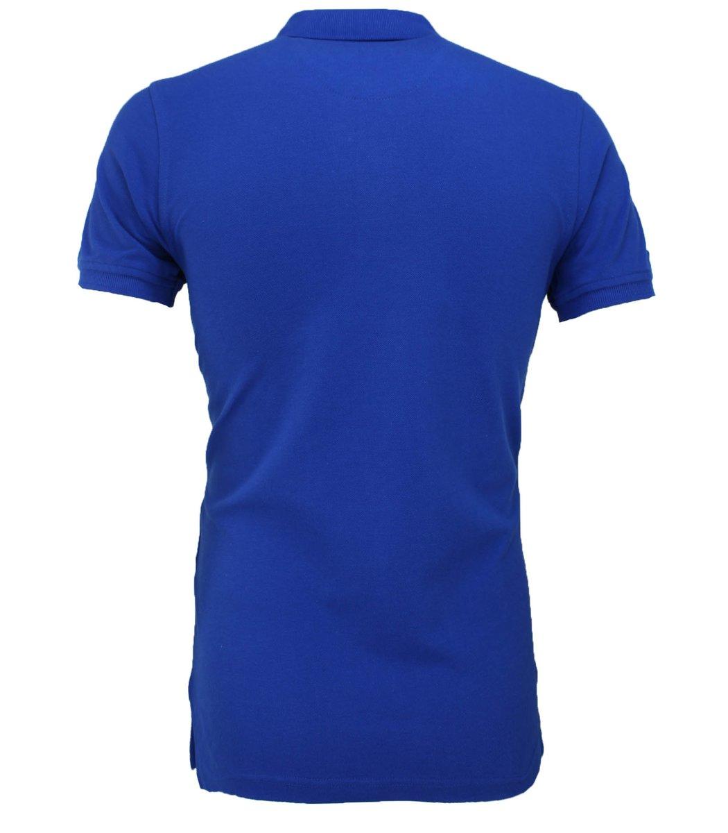 Синяя футболка поло Ralph Lauren RL3