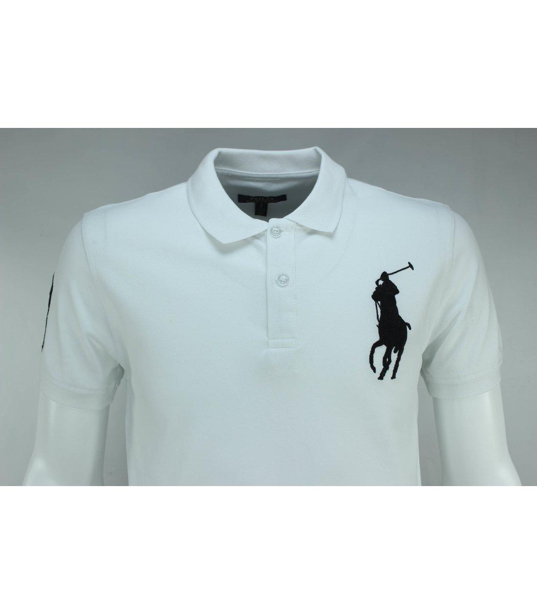 Белая футболка поло Ralph Lauren RL3