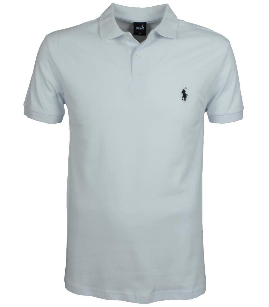 Белая футболка поло Ralph Lauren R11