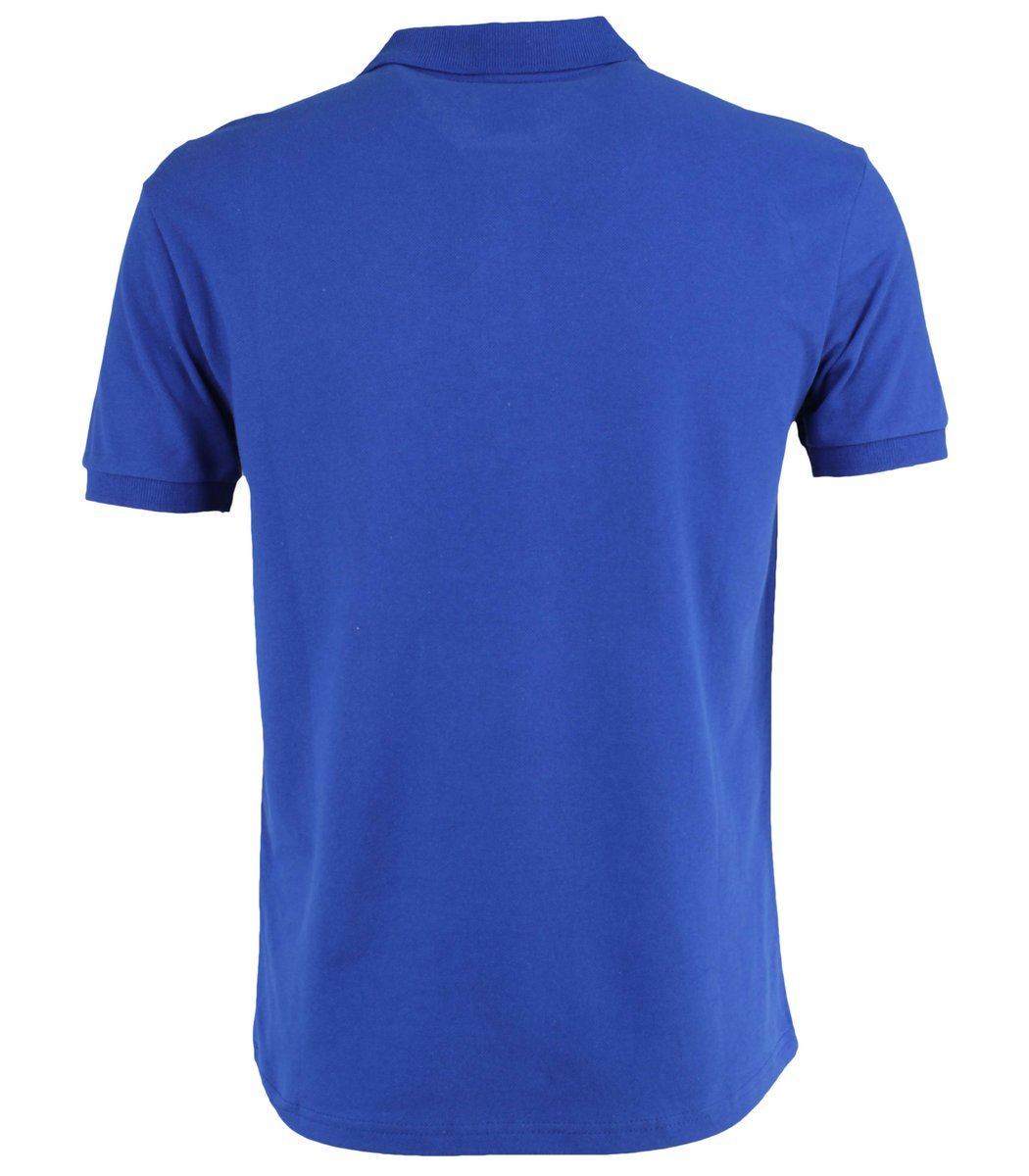 Синяя футболка поло Ralph Lauren R11