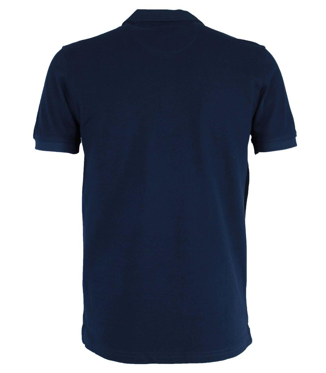 Синяя футболка поло Tommy Hilfiger T5