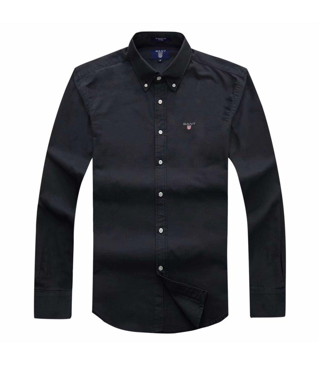 Черная рубашка GANT RG2