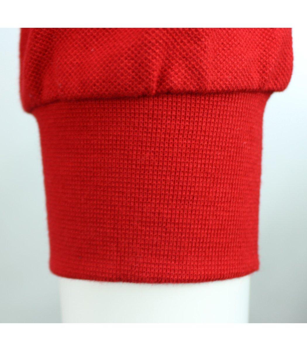 Красное классическое поло с длинным рукавом Gant PG1