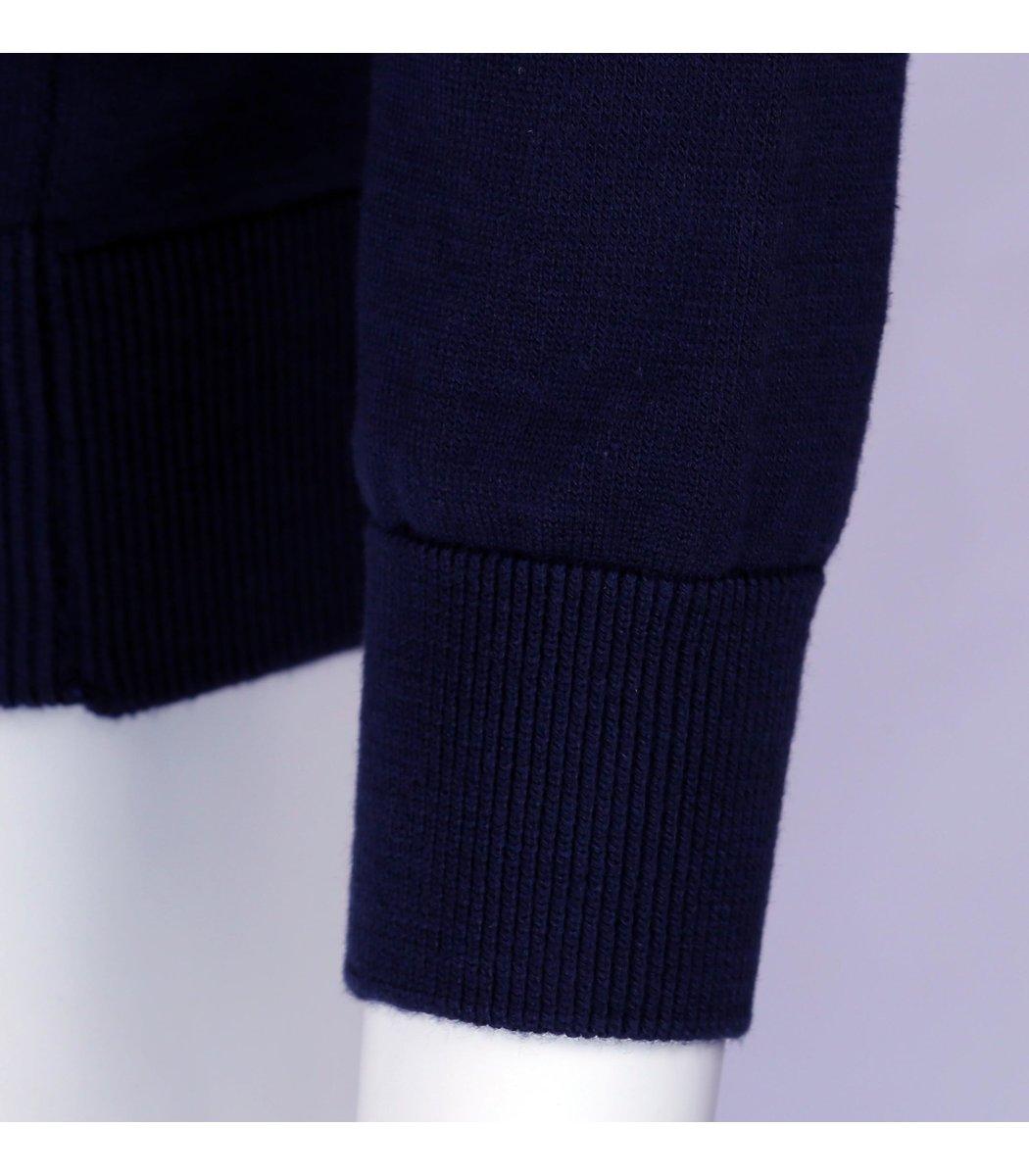 Тёмно-синий классический джемпер Gant JG1