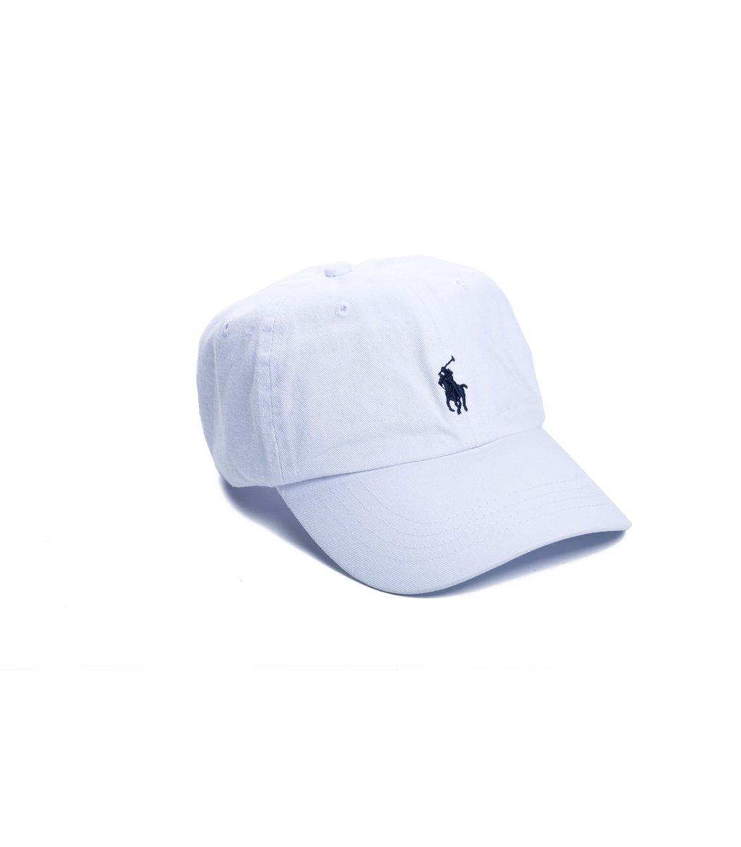 Кепка POLO Ralph Lauren Small logo Белый/черный